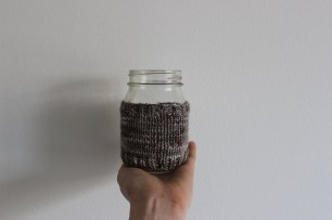 Litterless zero waste coffee sleeve