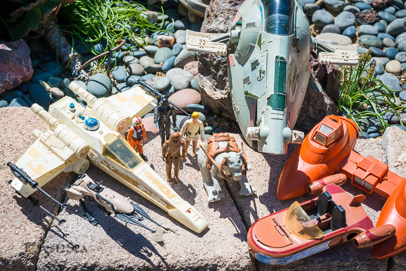 My childhood Star Wars toys