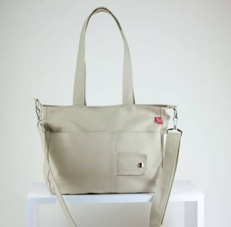 Beige Purse Bag