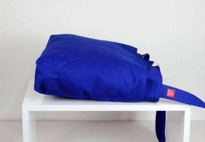 sax blue hobo bag
