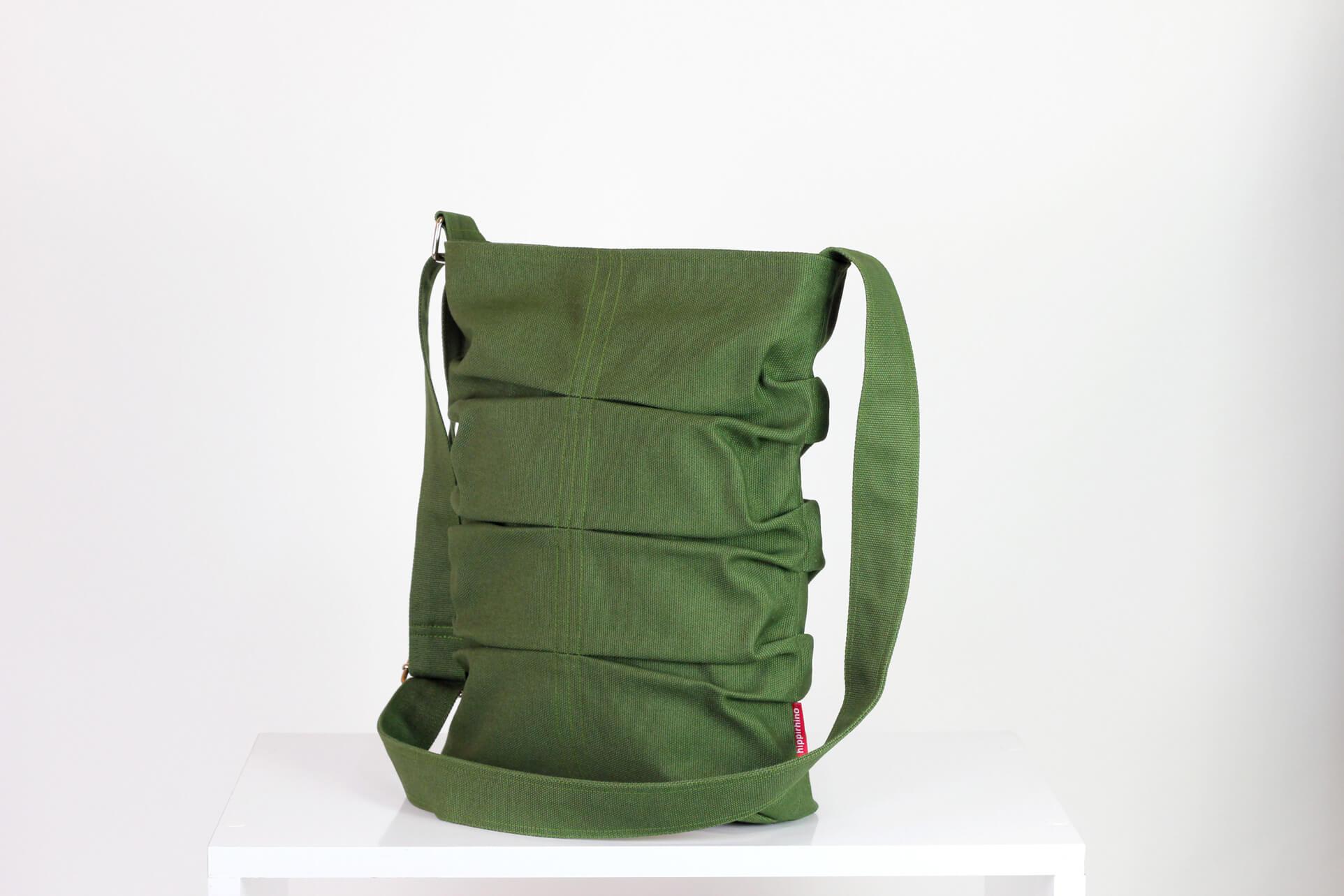 6e9b3eeaf2 Green Small Canvas Tote Bag