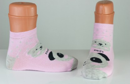pink teddy mom socks
