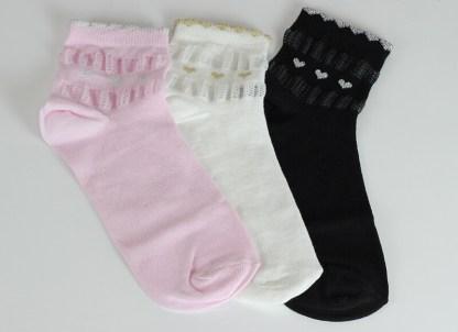 Hearts Ankle Socks