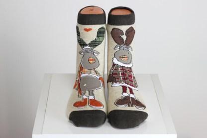Deer Happy Socks