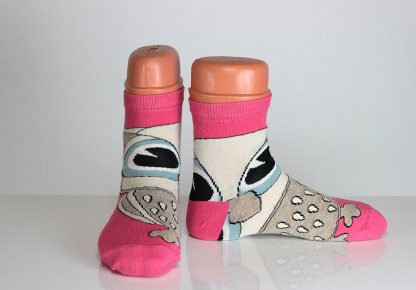 Owl Face Socks