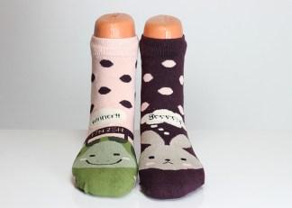 Turtle Rabbit Socks