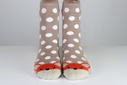 fox funny ankle socks