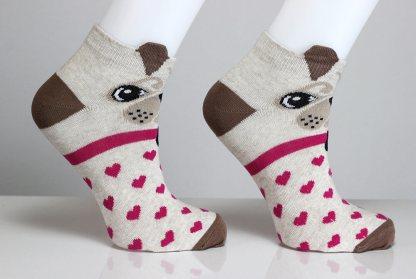 3D Ear Dog Socks