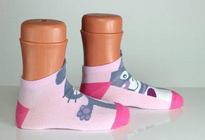 Colorful Rabbit Socks
