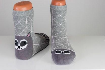 Women's Raccoon Funny Socks
