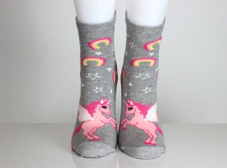 Unicorn Rainbow Socks