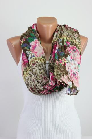 Floral Oversize Scarf