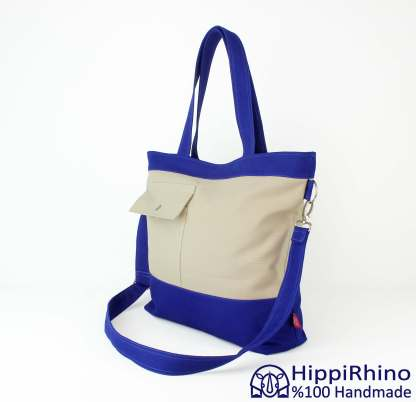 Oversize Canvas Tote Bag