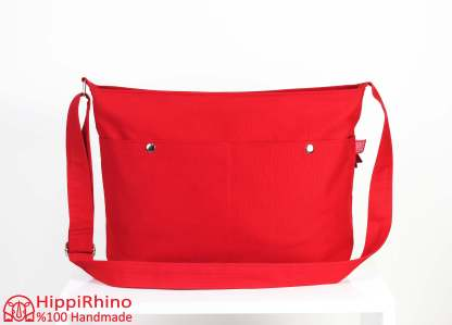 Red Messenger Bag