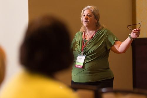 Lisa Romeo at HippoCamp 2016