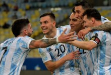 Argentina and Messi End Copa America Drought