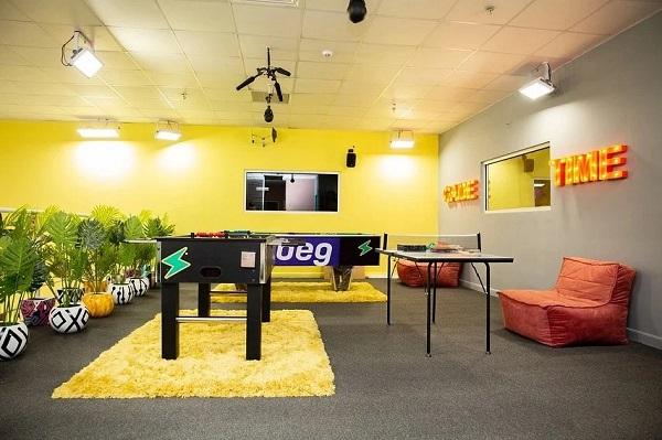 BBNaija Season 6 House Shine Ya Eye Indoor game lounge