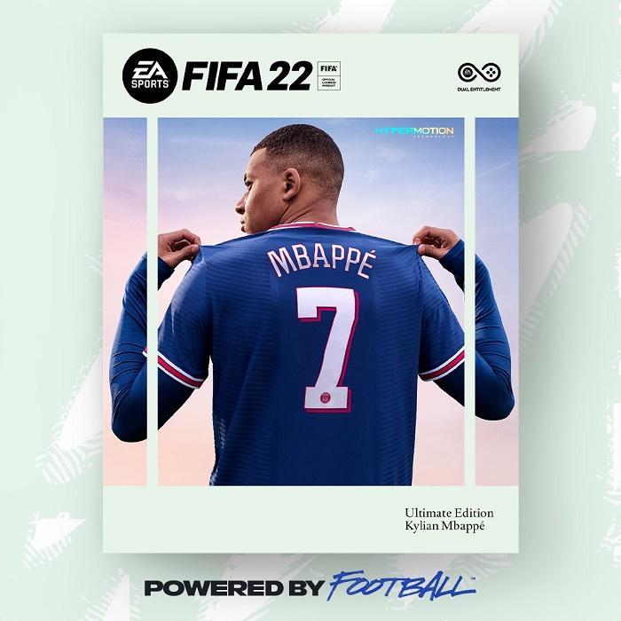 Kylian Mbappe Returns as Cover Star for FIFA 2022