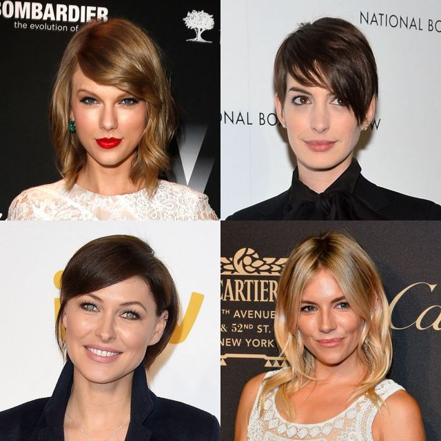 which haircuts and styles make your face look slimmer