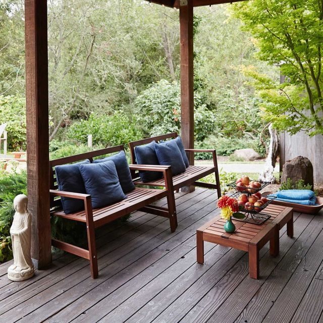 How to clean the patio - patio cleaning tips