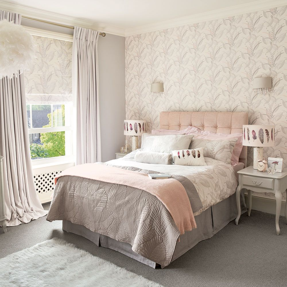 12 pink and grey bedroom ideas pink