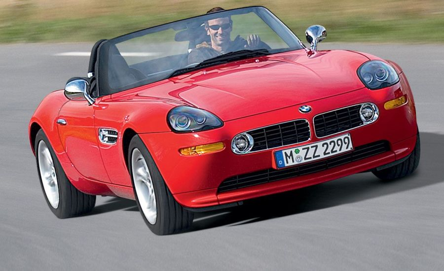 BMW Z8 Short Take Road Test   Review   Car and Driver BMW Z8