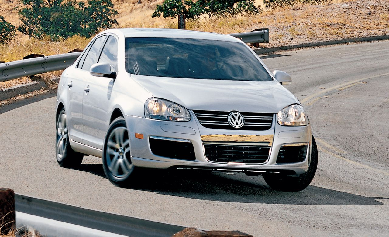 2006 Volkswagen Jetta Road Test Review Car And Driver