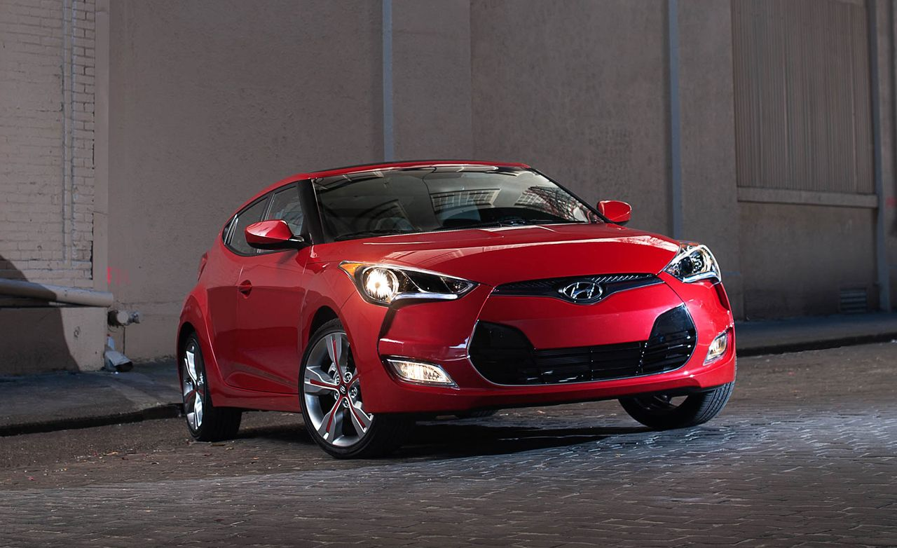 2012 Hyundai Veloster Road Test Review Car And Driver