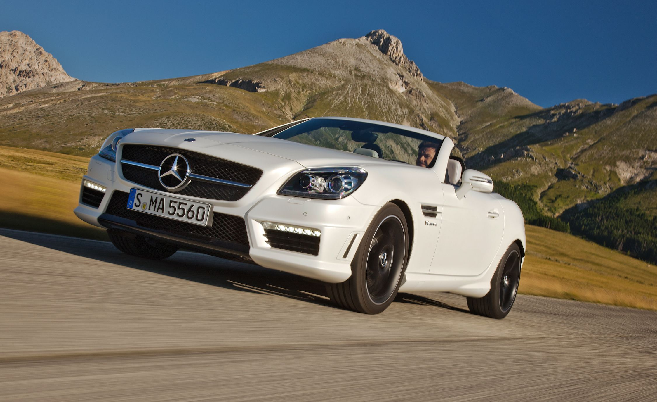 2012 Mercedes Benz Slk55 Amg First Drive Review Car