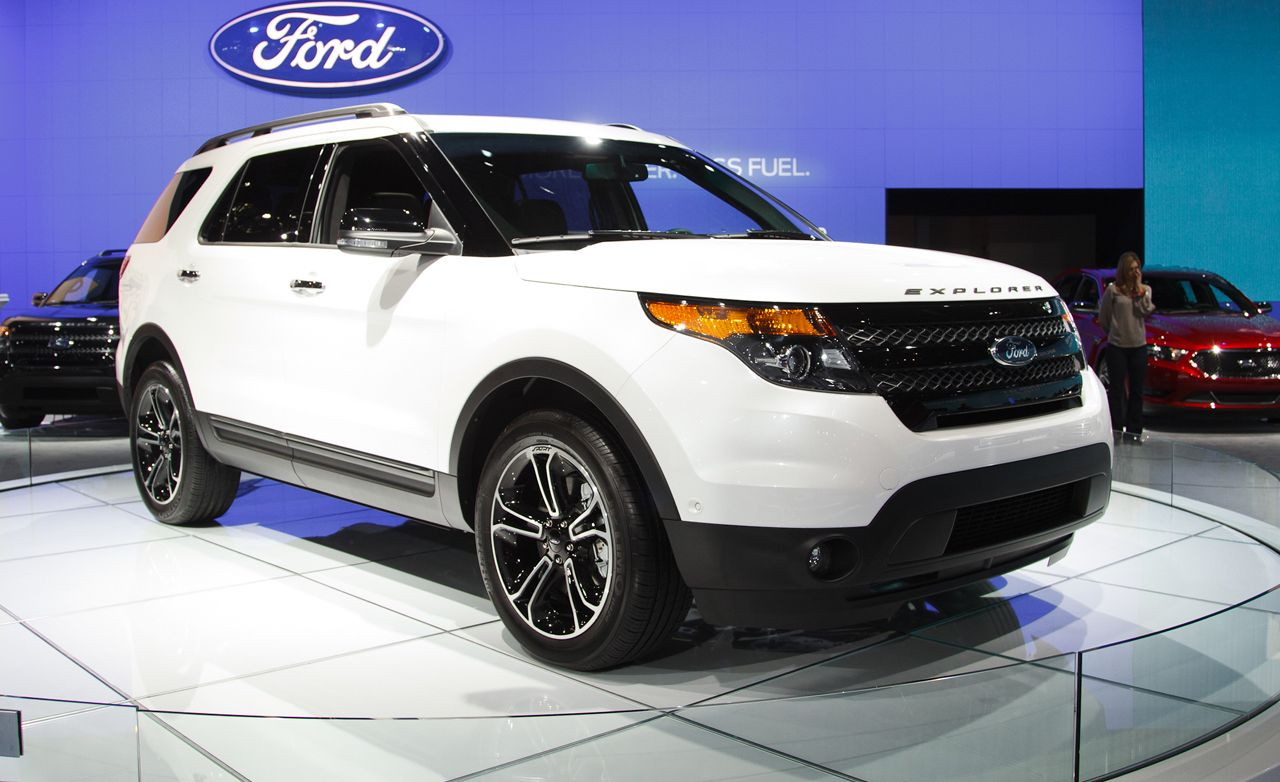 2013 Ford Explorer Sport Photos And Info