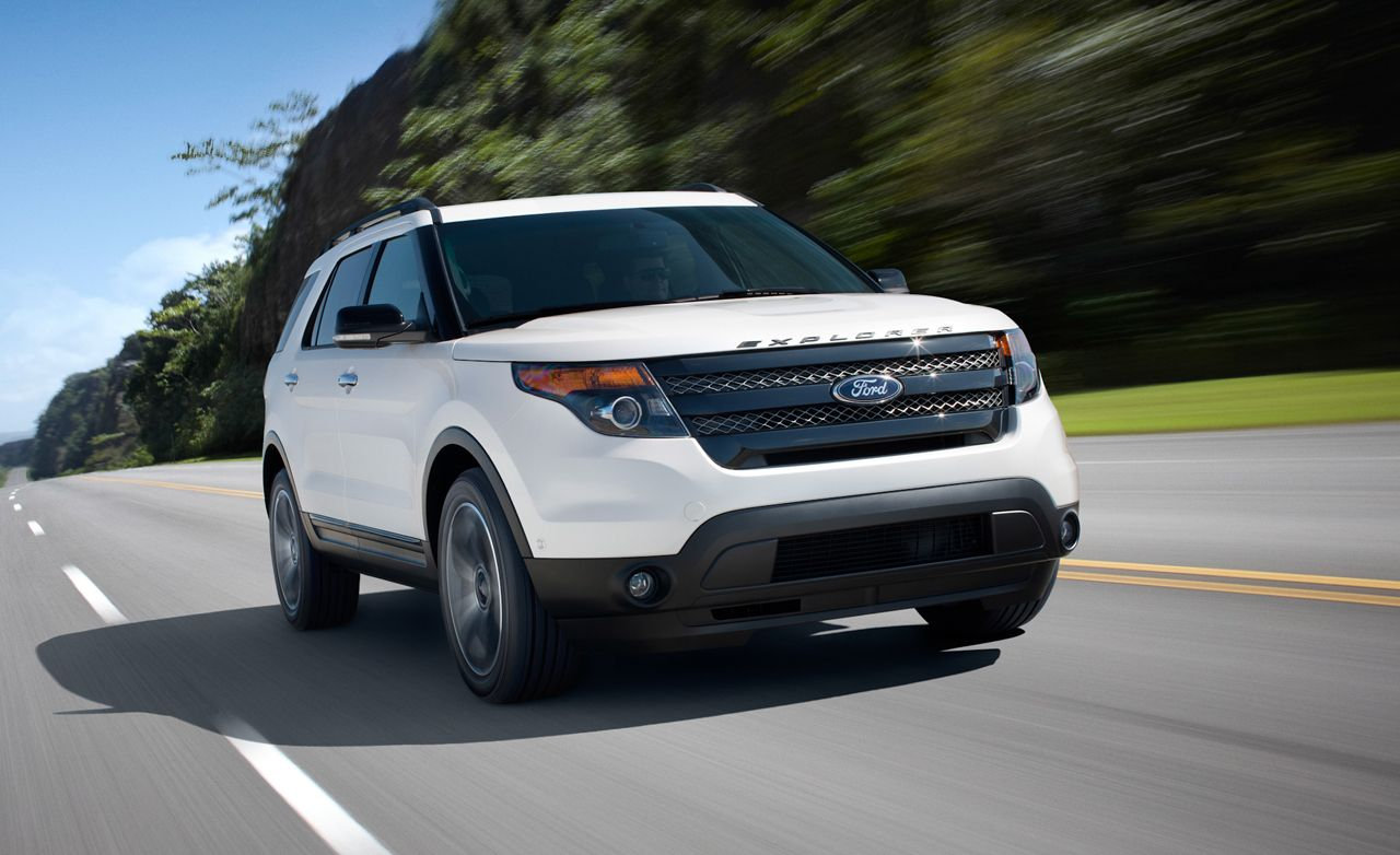 2013 Ford Explorer Sport First Drive