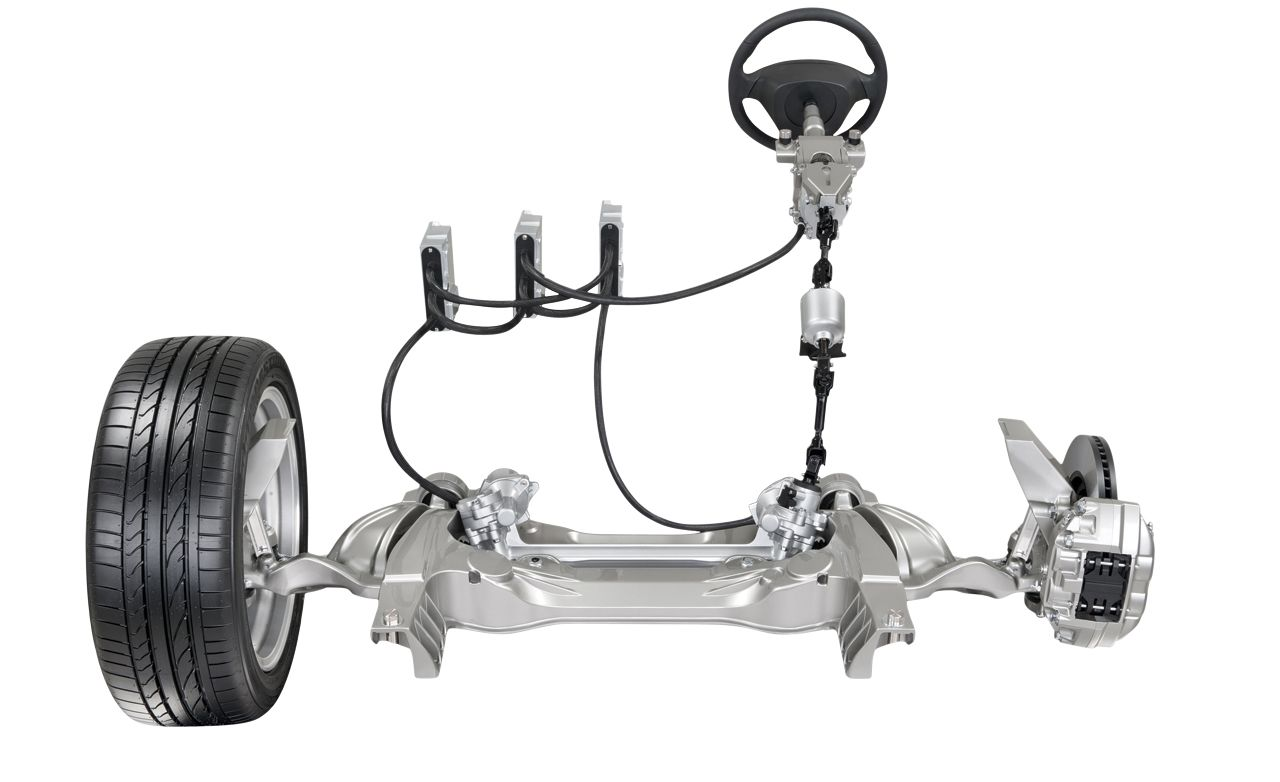 Electric Feel Nissan Digitizes Steering But The Wheel