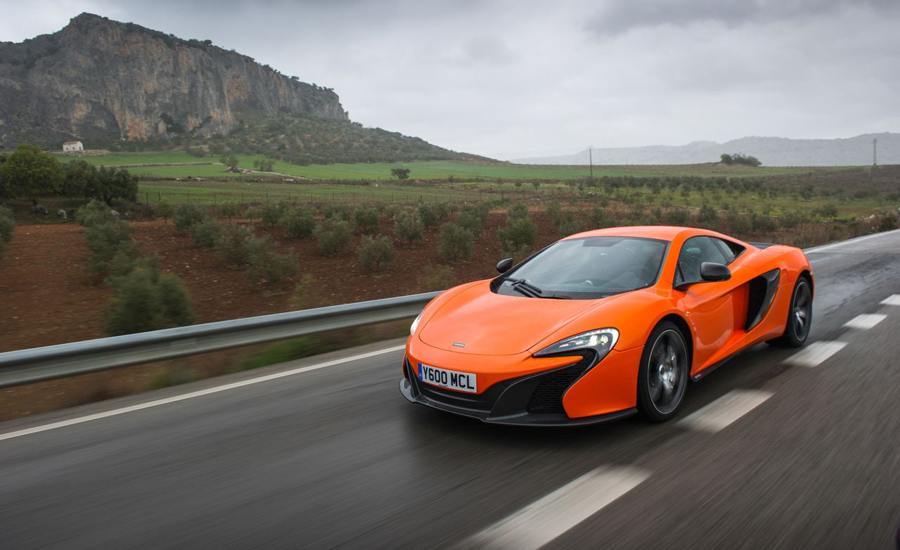 2015 McLaren 650S First Drive Review Car And Driver