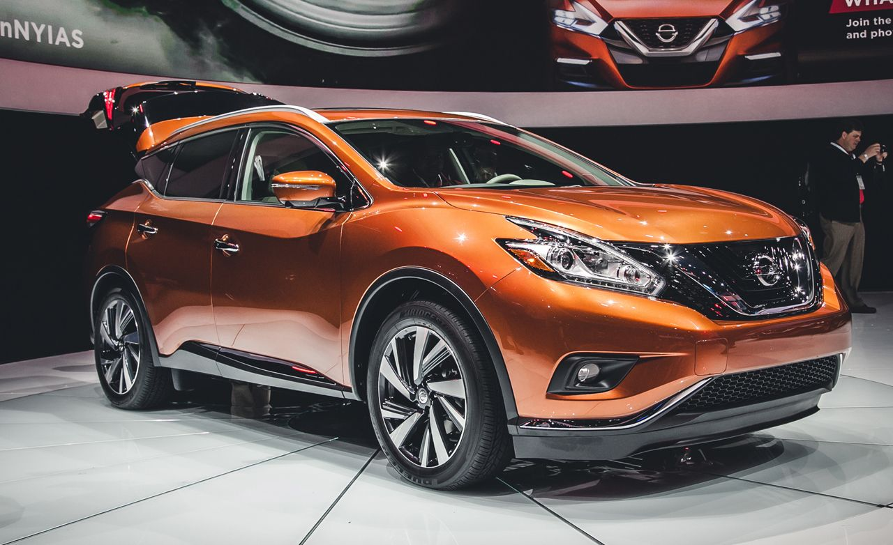 2015 Nissan Murano Photos And Info News Car And Driver