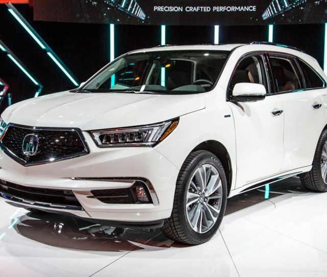Acura Mdx New Hybrid Model More Standard Safety Gear