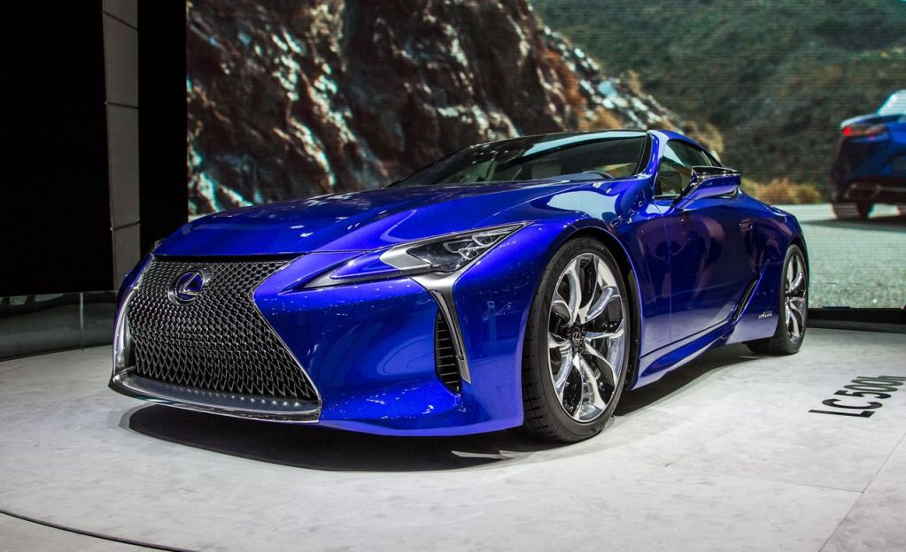 2018 Lexus LC500h Hybrid Coupe Photos and Info – News ...