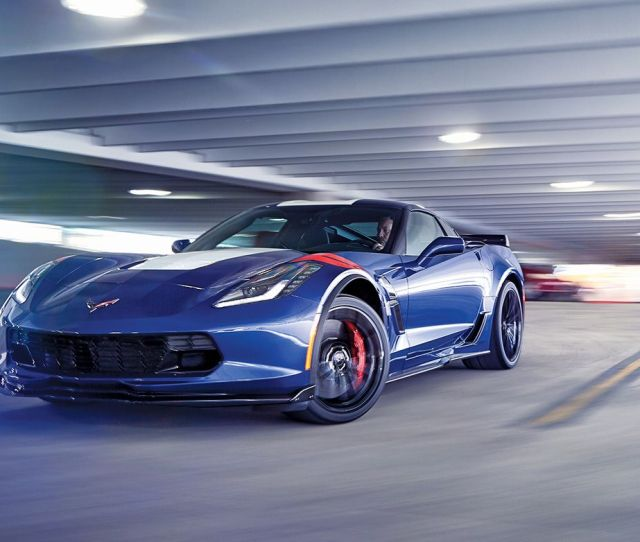 Chevrolet Corvette Grand Sport First Drive Review Car And Driver