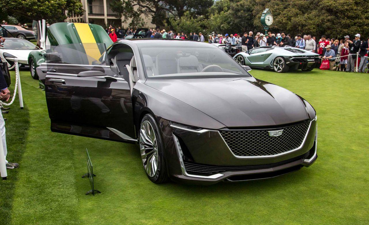 Cadillac Escala Concept Photos And Info News Car And