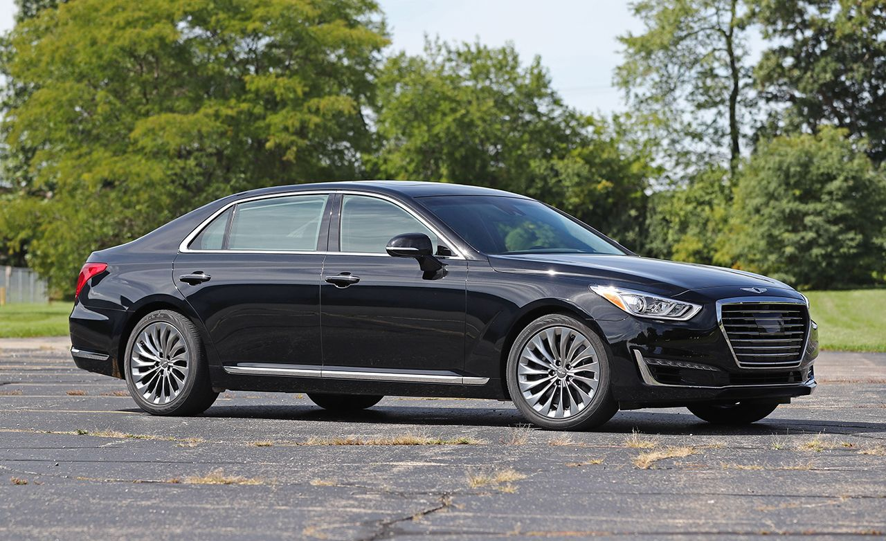 2017 Genesis G90 50 V 8 Test Review Car And Driver