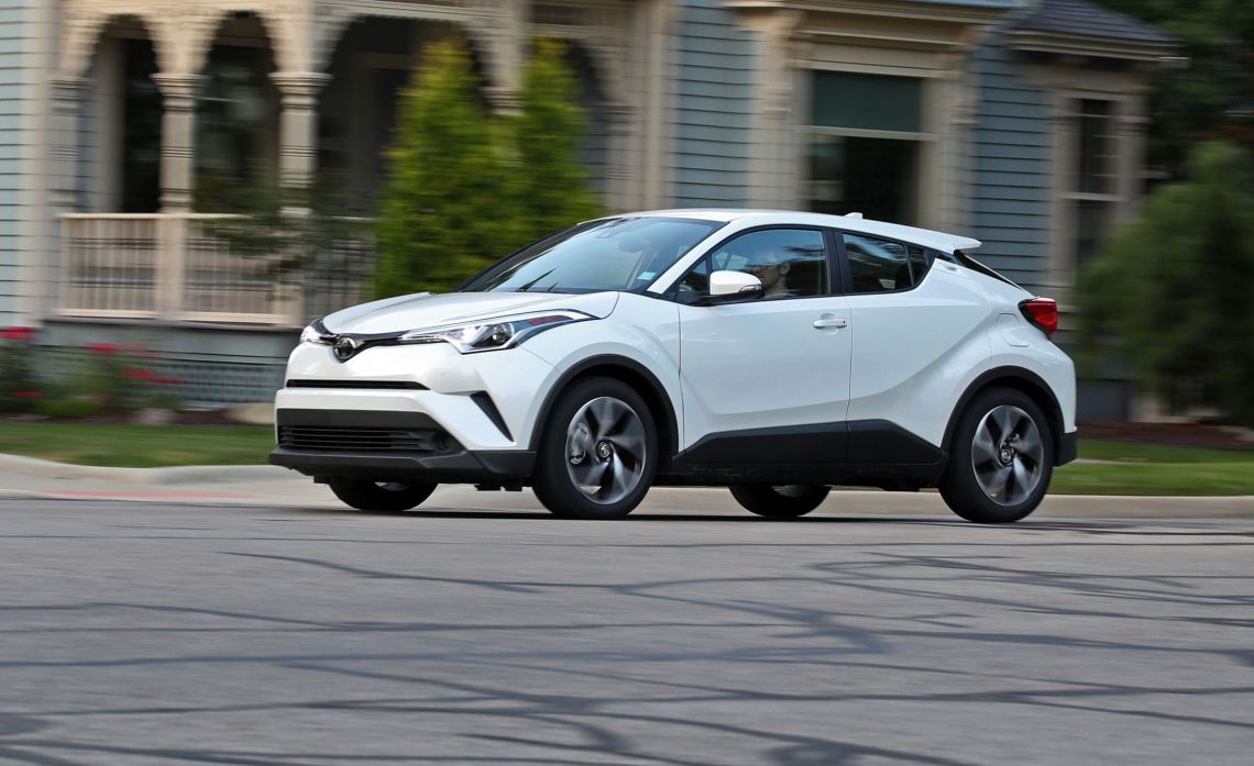 2018 toyota c-hr test   review   car and driver