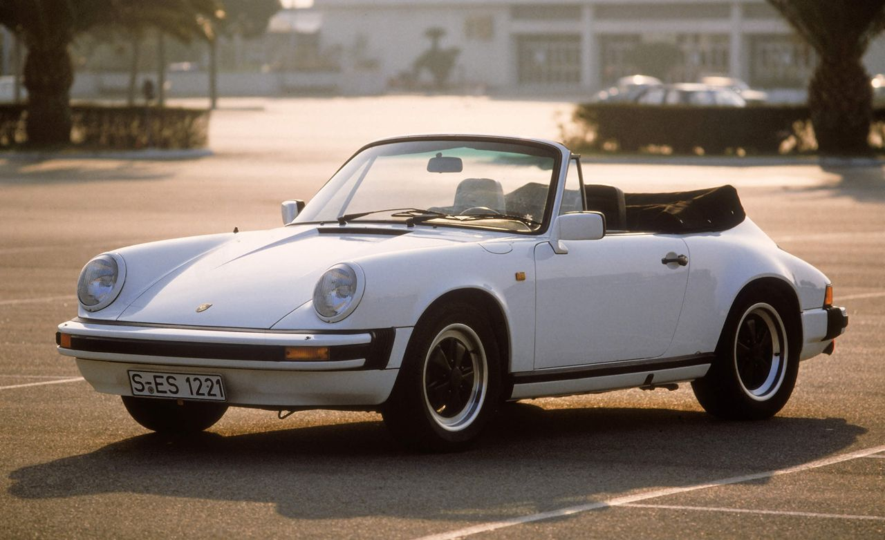 1983 Porsche 911SC Cabriolet Archived Road Test | Review
