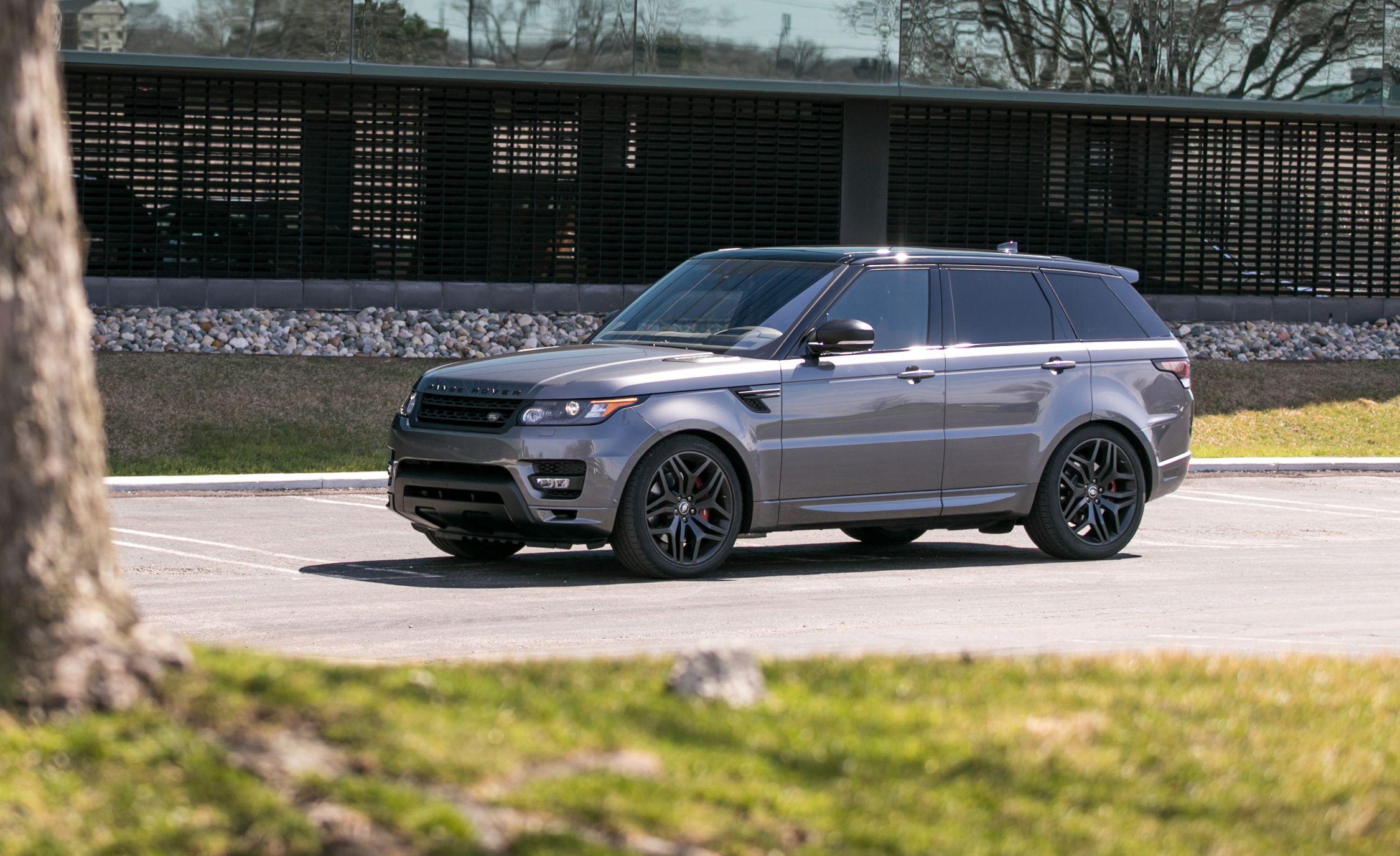 2017 Land Rover Range Rover Sport Supercharged SVR