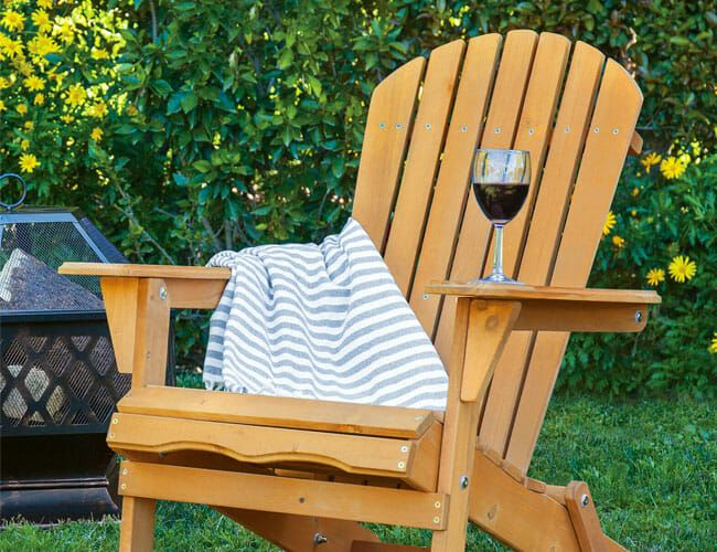 a ton of cheap patio furniture is