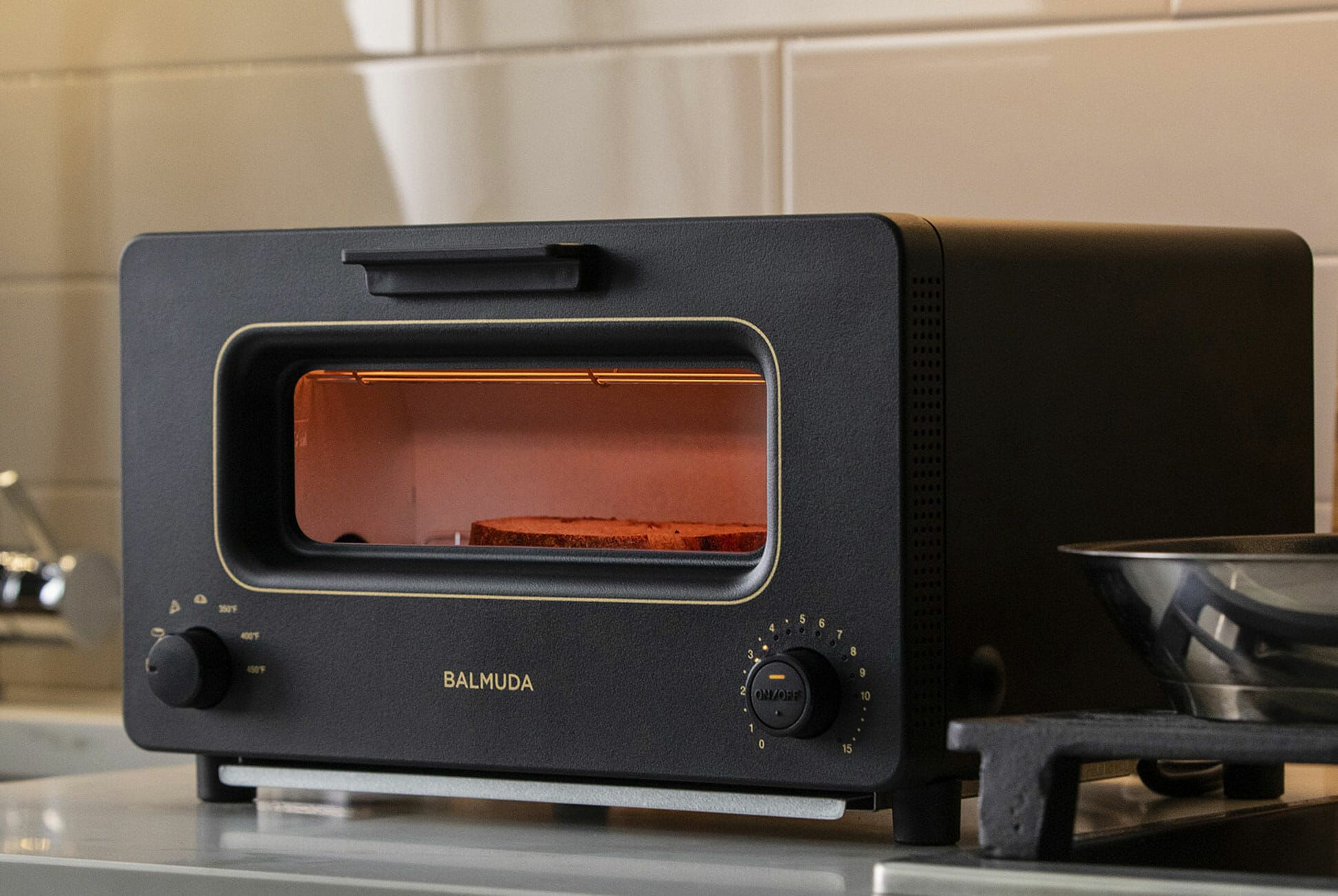a famous japanese toaster is now