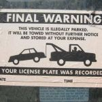 Will A Note On Your Illegally Parked Car Keep It From Getting Towed