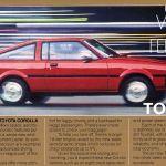 1980 Futuristic Toyota Corolla Sr 5 Sport Coupe Offers Space