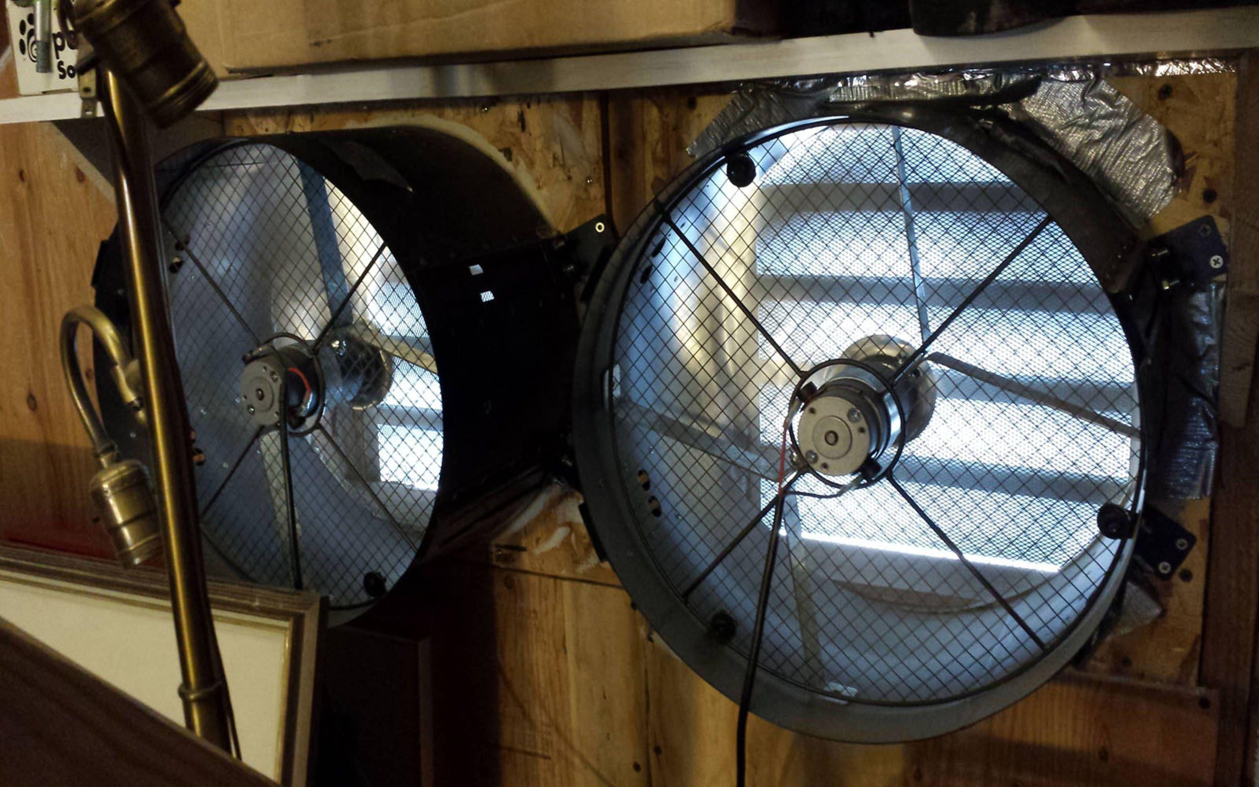 solar powered attic ventilator