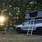 A Night On Top Of A 2019 Honda Passport The Psychology Of The Pop Up Rooftop Tent