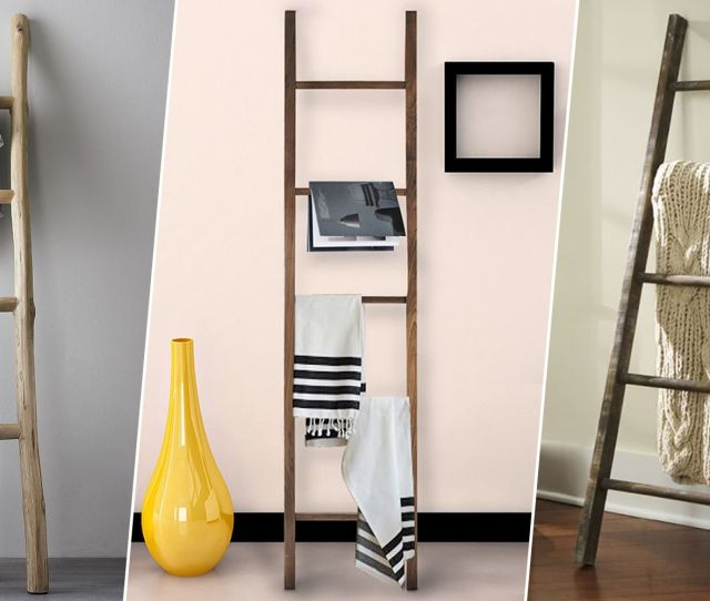 S Best Blanket Ladders For Throws Display Blankets On Decorative Ladders