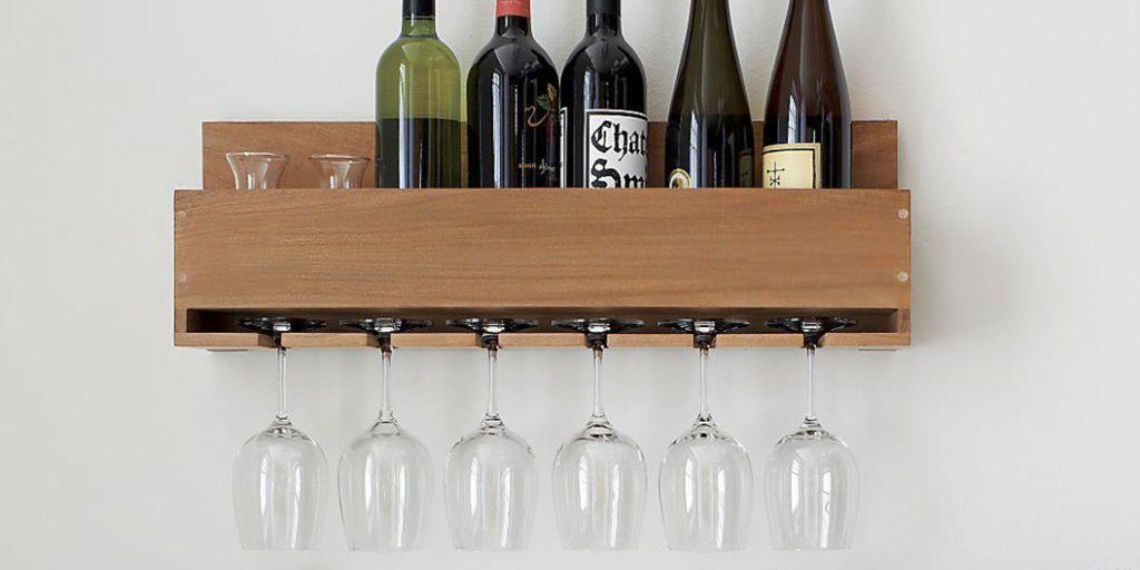 10 best wall mounted wine racks in 2018